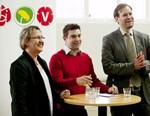 Eila Clarstedt (v), Jimmy Jansson (s) & Magnus Johansson