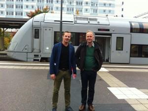 Jonas Sjöstedt och Vänsterpartiet Eskilstuna vill satsa på järnvägen