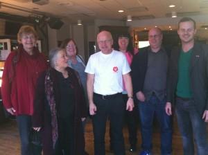 Styrelseledamöter besöker framgångsrika Fagersta och kommunalrådet Stig Henriksson
