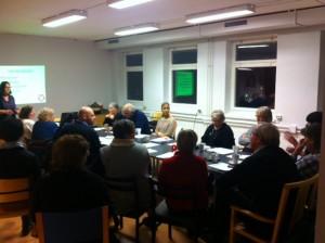 Utvecklingsmöte hos Vänsterpartiet Eskilstuna