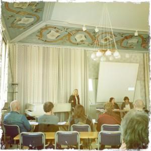 Karin Rågsjö föreläser om internfeminism