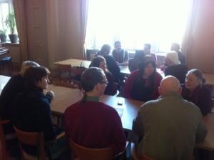 Interkulturell och interreligiös dialog under workshopen med flera vänsterpartister
