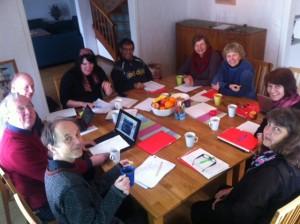 Vänsterpartiets strategigrupp träffas i Fiskeboda