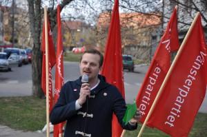 Joel Hamberg talade i Nyfors