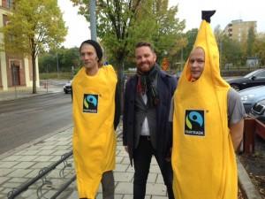 Hans Linde besöker Fairtrade forum