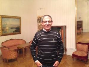 Firat Nemrud deltog i debatt på SFI