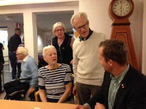Joel Hamberg besökte Solåsen