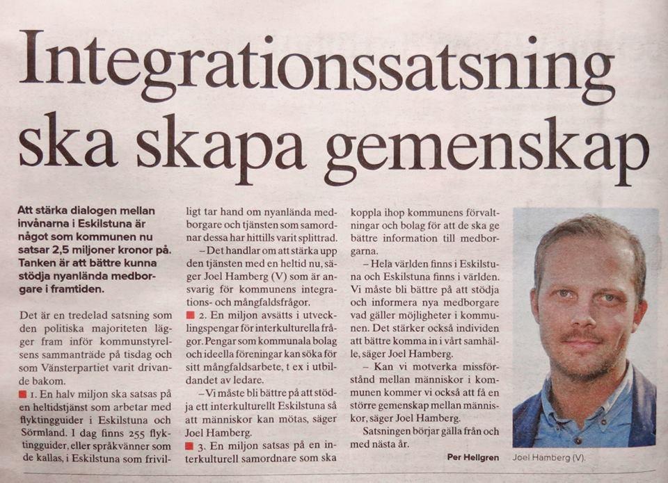 Utveckling av interkulturella Eskilstuna
