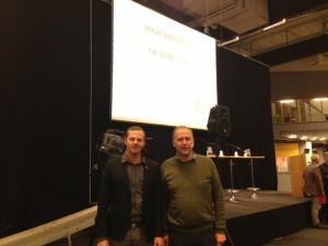 Jonas Sjöstedt och Joel Hamberg