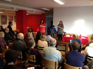 Valberedningen ledde nomineringskonferensen i Eskilstuna