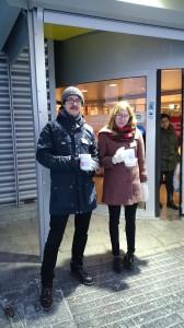 Håkan Lundin och Sofie Widh
