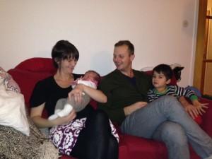 Maria Chergui födde en andra son