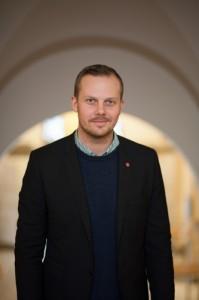 Joel Hamberg, kommunalråd och politiskt ansvarig för jämställdhet