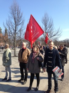 Anette Stavehaug, Joel Hamberg och Tommy Hamberg