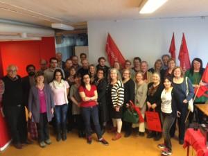 Många medlemmar på Valskola i Eskilstuna