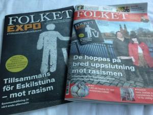 Tidningen Folket och Folket EXPO lö 29 mars 2014