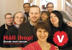 Vänsterpartiet Eskilstuna kämpar mot rasism