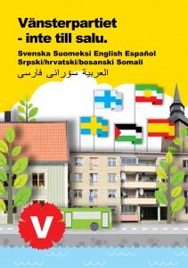 Framsida - flerspråkig folder